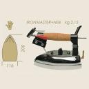 FER A REPASSER IRON MASTER 220V 2.15kg + NEBULISATEUR