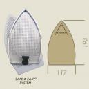 SEMELLE ALU/TEFLON A13P VERONESI / STIR 193 x 117mm
